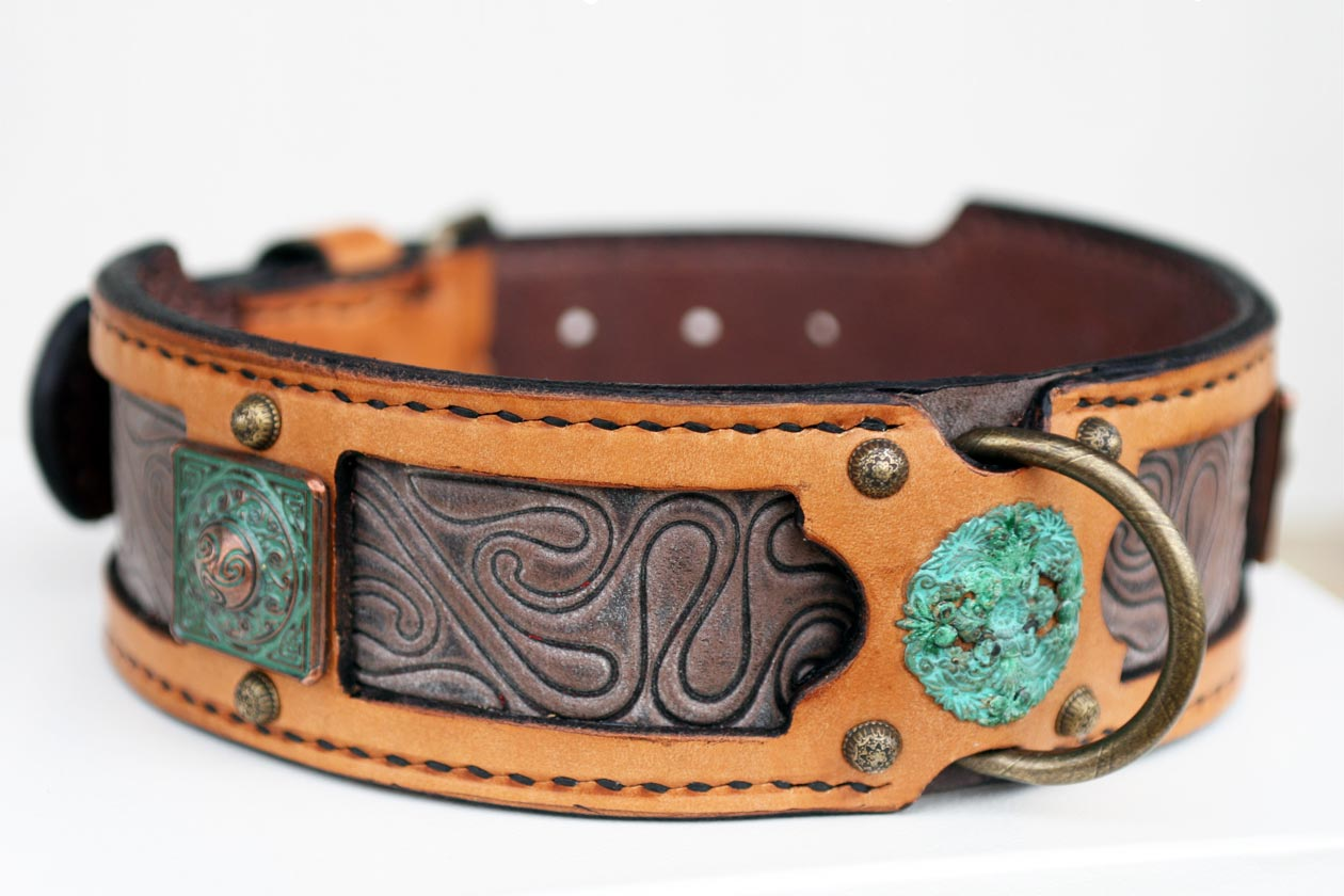 Fine Leather Dog Collars